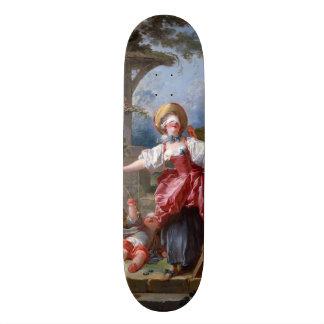 El pen¢asco del Ciego-Man de Jean-Honore Fragonard Monopatines Personalizados