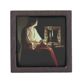 El Penitent Magdalen, c.1638-43 (aceite en lona) Cajas De Joyas De Calidad