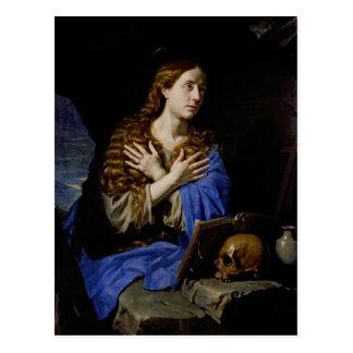 El Penitent Magdalena, 1657 Postal