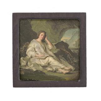 El Penitent Magdalena (aceite en lona) Caja De Recuerdo De Calidad
