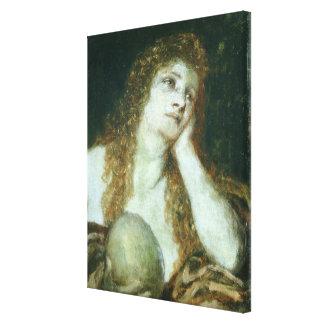 El Penitent Maria Magdalena, 1873 Lienzo Envuelto Para Galerias