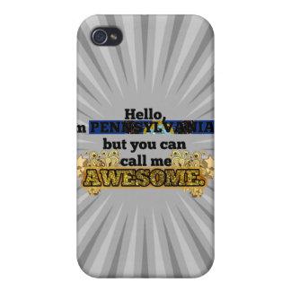El Pennsylvanian, pero me llama impresionante iPhone 4 Carcasas