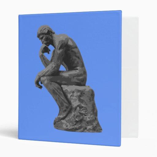 """El pensador de Rodin Carpeta 1"""""""