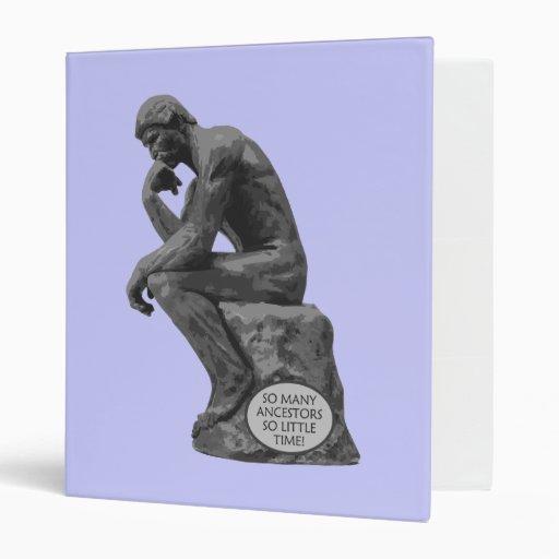 El pensador de Rodin - tan muchos antepasados