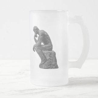 El pensador de Rodin Taza