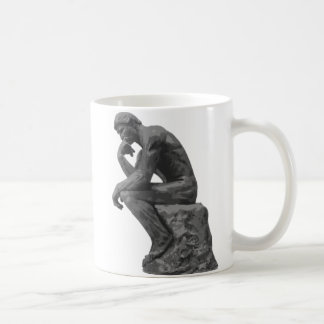 El pensador de Rodin Taza Clásica
