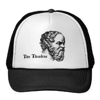 El pensador gorras de camionero