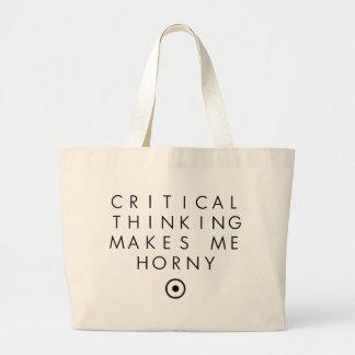 El pensamiento de Critial me hace H0rney Bolsas De Mano
