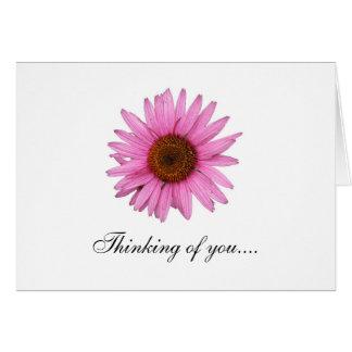 El pensamiento en usted… y consigue pronto la tarjeta de felicitación