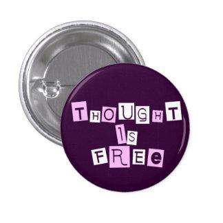 El pensamiento está libre pins