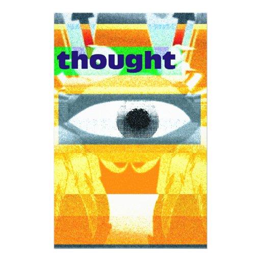 ¡El pensamiento! Papelería De Diseño