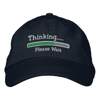 El pensamiento por favor espera