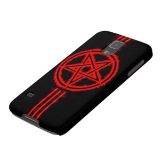 El Pentagram sangriento del diablo de la élite de Funda De Galaxy S5