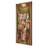 El Pentecost, c.1604-14 Lienzo Envuelto Para Galerías