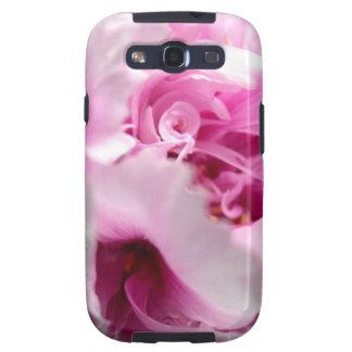 El Peony florece la caja de la galaxia de Samsung Samsung Galaxy S3 Carcasas