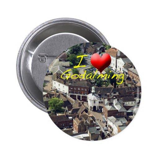 El Pepperpot Godalming Surrey Pin