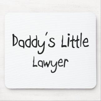 El pequeño abogado del papá tapetes de raton