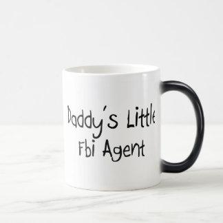 El pequeño agente del FBI del papá Tazas De Café