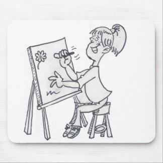 El pequeño artista Mousepad