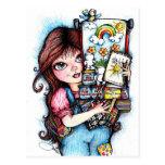 El pequeño artista postal
