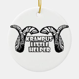 El pequeño ayudante de Krampus Ornaments Para Arbol De Navidad