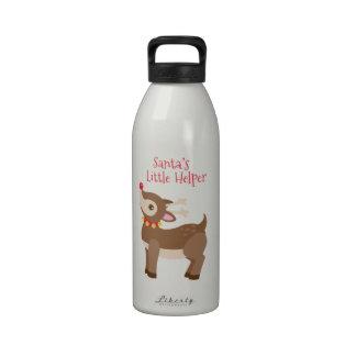El pequeño ayudante de Santa Botellas De Beber