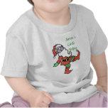 El pequeño ayudante de Santa Camiseta