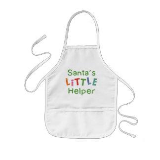 El pequeño ayudante de Santa Delantal Infantil