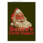 El pequeño ayudante de Santa Tarjetas