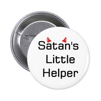 El pequeño ayudante de Satan Pin Redondo 5 Cm