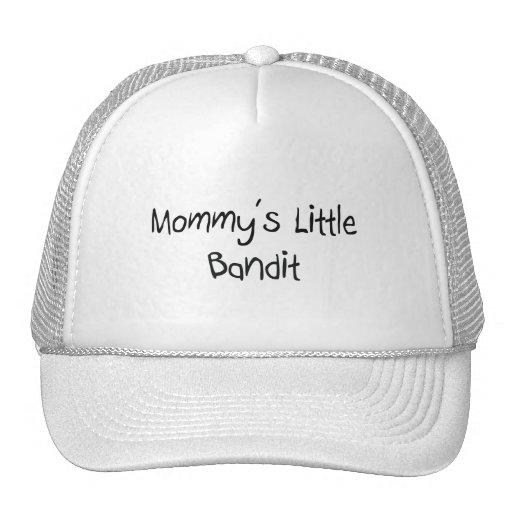 El pequeño bandido de la mamá gorros bordados
