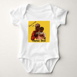 El pequeño bebé de la mami ama el pan de Shortnin Body Para Bebé