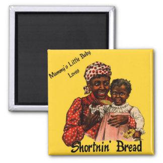 El pequeño bebé de la mami ama el pan de Shortnin Imán Cuadrado