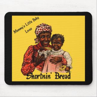 El pequeño bebé de la mami ama el pan de Shortnin Mousepad
