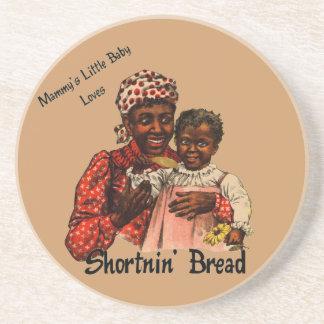 El pequeño bebé de la mami ama el pan de Shortnin Posavasos Cerveza