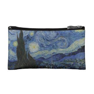El pequeño bolso cosmético de la noche estrellada
