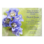 El pequeño brunch púrpura del boda del poste de invitación 12,7 x 17,8 cm