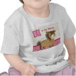 El pequeño caballo lindo embroma la imagen del alf camiseta