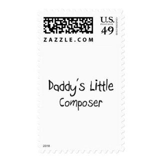 El pequeño compositor del papá sellos