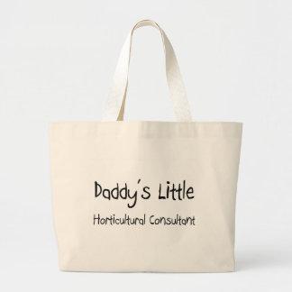 El pequeño consultor hortícola del papá bolsas