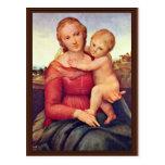 El pequeño Cowper Madonna de Raffael Tarjeta Postal