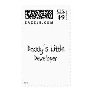 El pequeño desarrollador del papá sello
