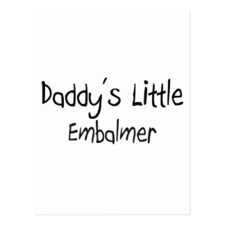 El pequeño Embalmer del papá Postales