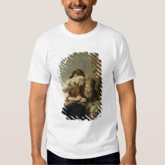El pequeño Fruta-Vendedor, 1670-75 Camisas