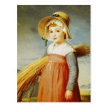 El pequeño Gleaner, 1824 Postales