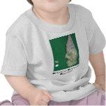 El pequeño golfista del papá camisetas