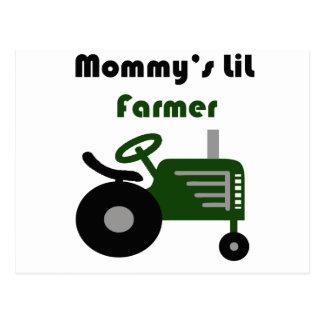 El pequeño granjero de la mamá postal