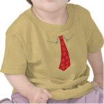 El pequeño hombre de la mamá con el lazo camisetas