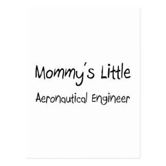El pequeño ingeniero aeronáutico de la mamá postales