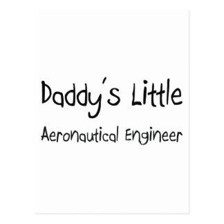 El pequeño ingeniero aeronáutico del papá postal